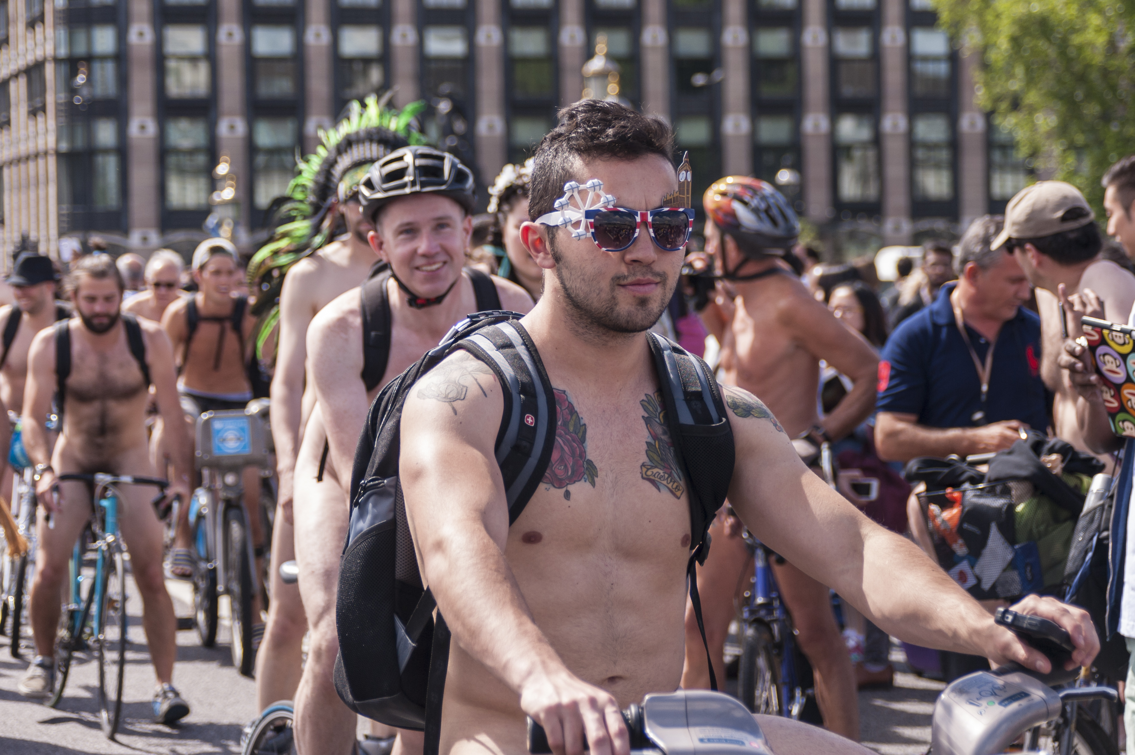 world naked bike ride 2014 August 17, 2014 3700 × 2462Pictures: World naked bike ride ...